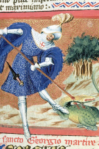 St George as depicted in The Golden Legend