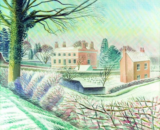 Vicarage in Winter