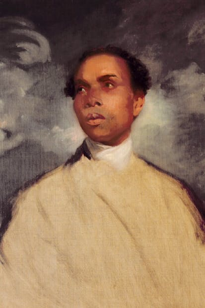 Portrait thought to be of Francis Barber by Sir Joshua Reynolds