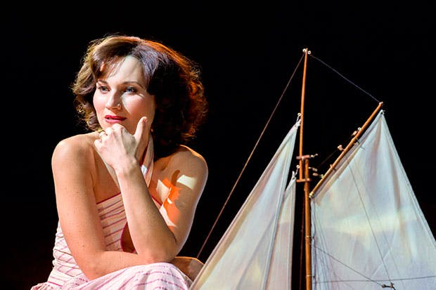 She makes Medusa look like a dinner lady: Kate Fleetwood as Tracy Lord in 'High Society'
