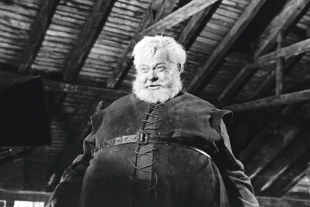 Titanic: Orson Welles as Falstaff in 'Chimes at Midnight' (1966)