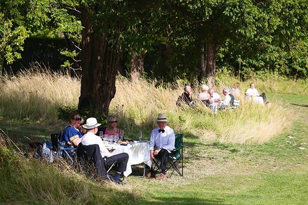 How very English:picnics at Glyndebourne
