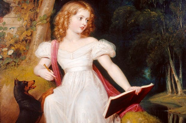 Victoria as a child, by Richard Westall