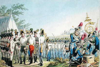 The new Imperial Royal Austrian Light Infantry c.1820