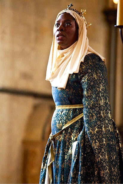 Quite the hankie-drencher: Tanya Moodie as Constance in 'King John'