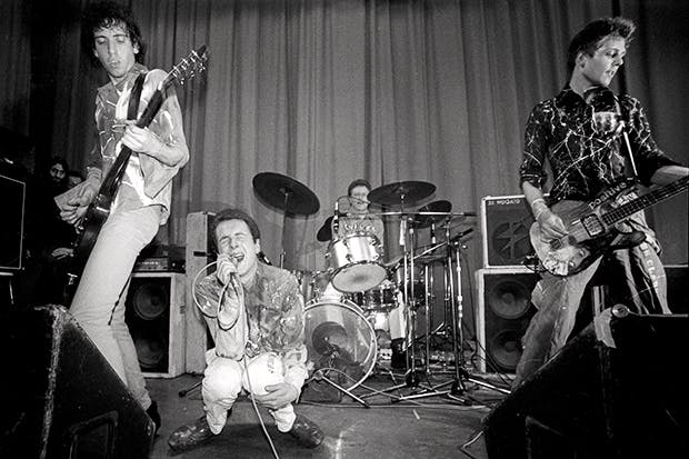 London shouting: The Clash at the ICA, 1976