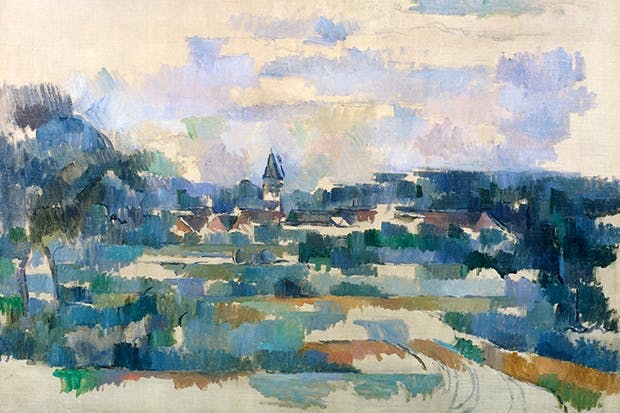 'Turning Road (Route Tournante)', c.1905, by Paul Cézanne