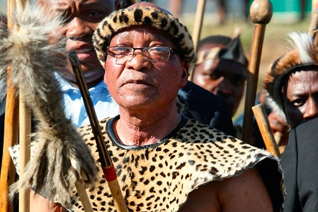 Jacob Zuma — a tribalist whose extended family and fellow Zulus have benefited hugely from his accession to power