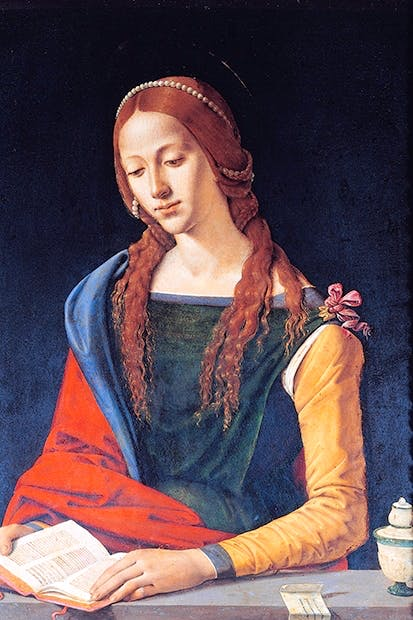 St Mary Magdalene by Piero di Cosimo