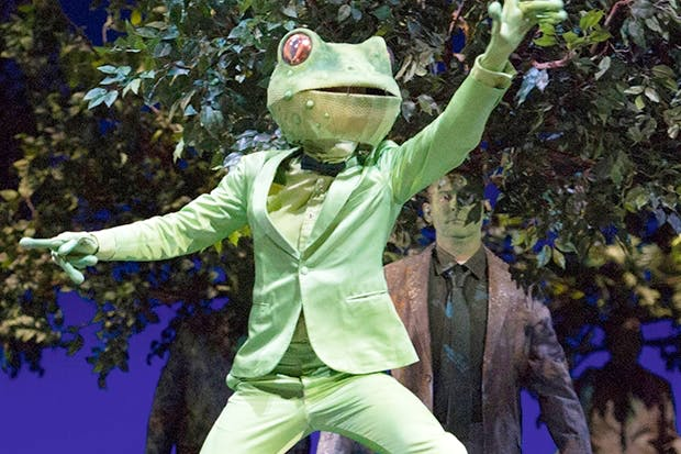 Animal magic: François Piolino as the Frog in 'L'enfant et les sortilèges'