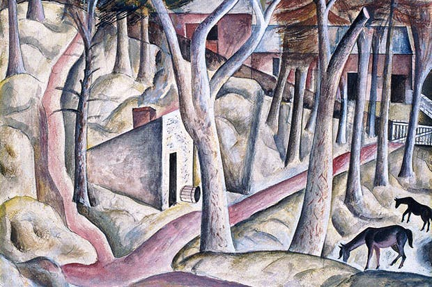 'Capel-y-ffin', 1926–7 (watercolour and gouache)