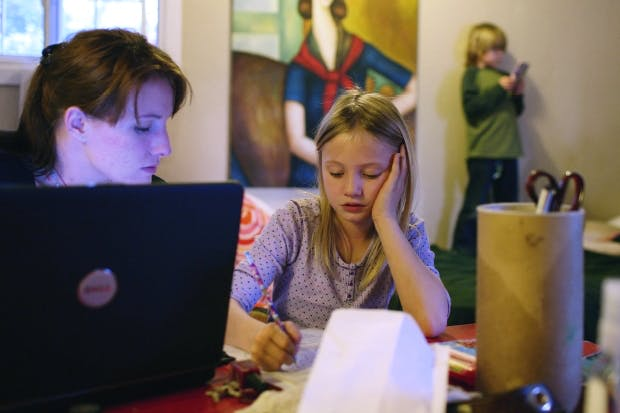 'Have you done this in class?' Essays often require a lot of help from parents – and Wikipedia