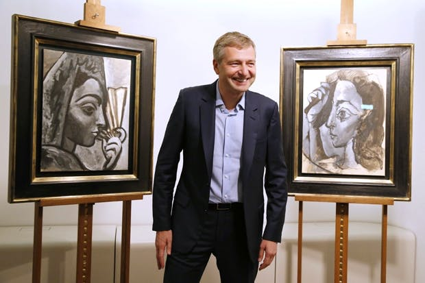 Rybolovlev with the Picassos