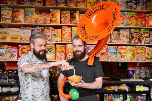 The home of Unicorn Poop  Cereal Killer Café (Photo: PA Images)
