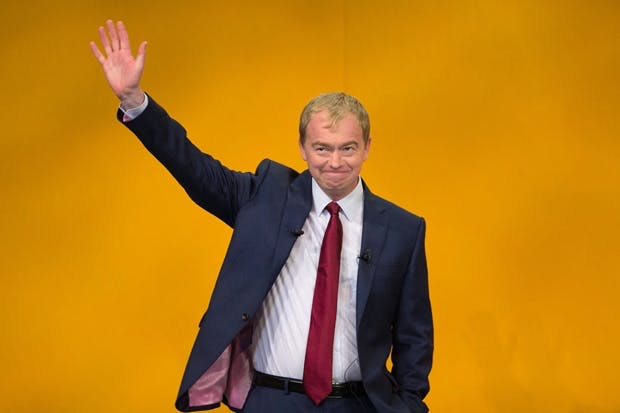 Lib Dem leader Tim Farron (Photo: Getty)