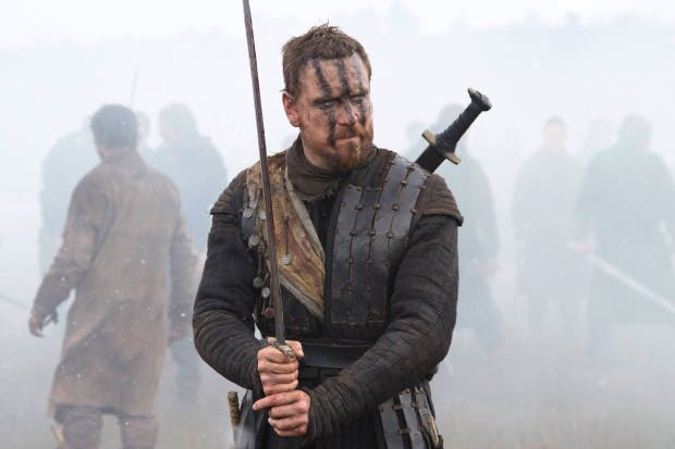 Michael Fassbender: animal magnetism but no clue as to what oils Macbeth's cogs