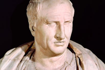 Marcus Tullius Cicero: our guide to 'the most tumultuous era in human history'