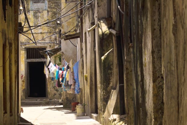 Palaces and alleyways: StoneTown