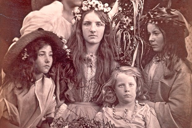 'May Day', 1866, by Julia Margaret Cameron