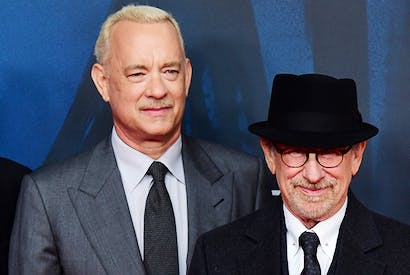 Tom Hanks and Steven Spielberg at the premiere of 'Bridge of Spies'(Photo: Getty)