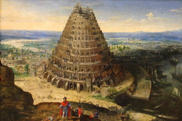 The Tower of Babel by Lucas van Valckenborch, 1591