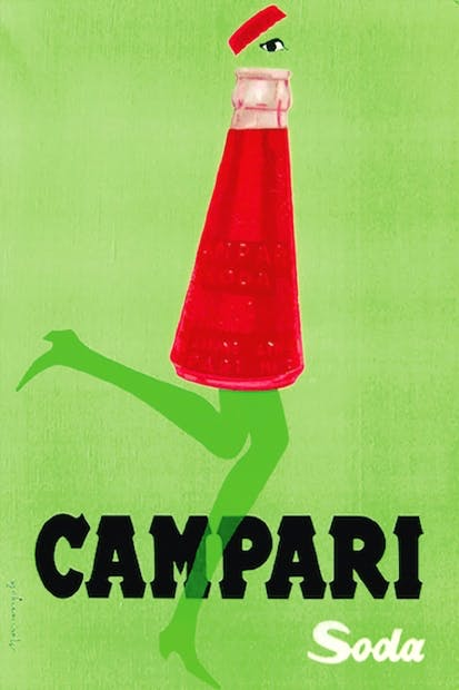 Franz Marangolo's advertisement , 1950 (From The Life Negroni)