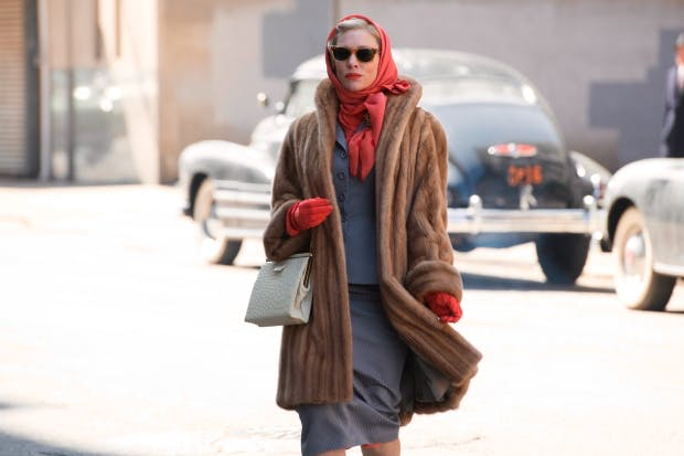 Stagey and mannered: Cate Blanchett as Carol