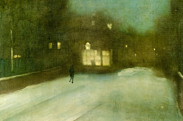 'Nocturne in Grey and Gold' by James McNeill Whistler, 1874