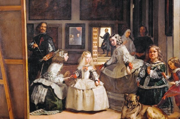 Velazquez's 'Las Meninas', the subject of Michael Jacobs's Everything is Happening