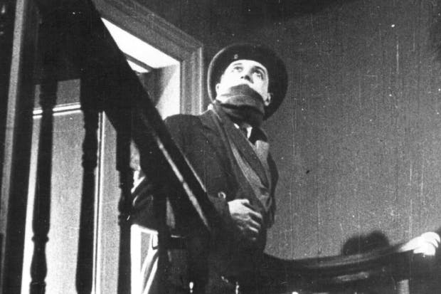 Ivor Novello as a 'sympathetic Ripper' in Hitchcock's The Lodger: A Story of the London Fog