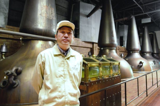 They watched and learned: Suntory's Hakushu distillery