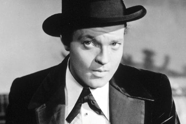 Orson Welles: 'I started at the top and worked my way down'