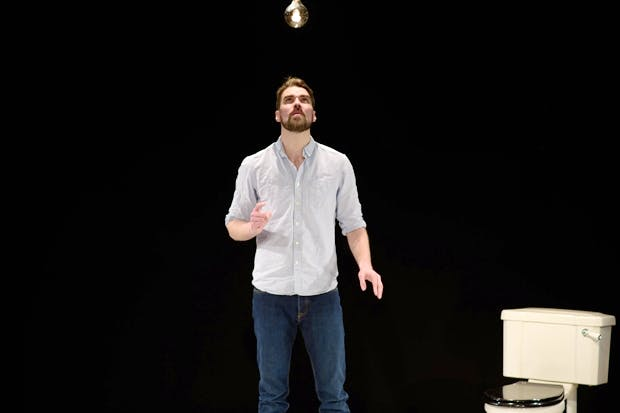 Ben Whybrow in This Will End Badly (Photo: Ben Broomfield)
