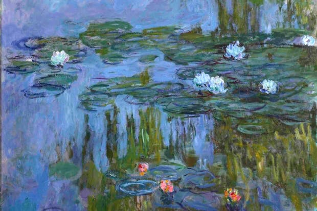 'Nympheas (Waterlilies)', 1914–15, by Claude Monet