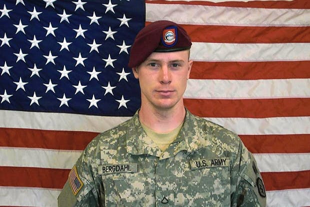 Sgt Bowe Bergdahl. Photo: U.S. Army/Getty Images