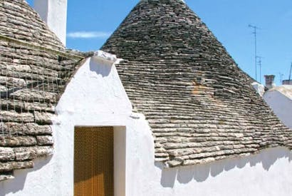 A trullo: kids love them
