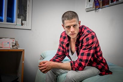 Psycho-in-chief: James Norton as Tommy Lee Royce in 'Happy Valley'