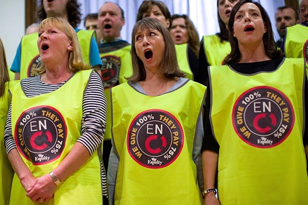Choristers from the English National Opera (Photo: Getty)