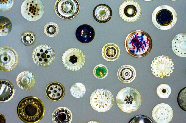 17th- and 18th-century buttons from John Taylor's Birmingham workshop