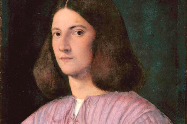 'Portrait of a Young Man' by Giorgione