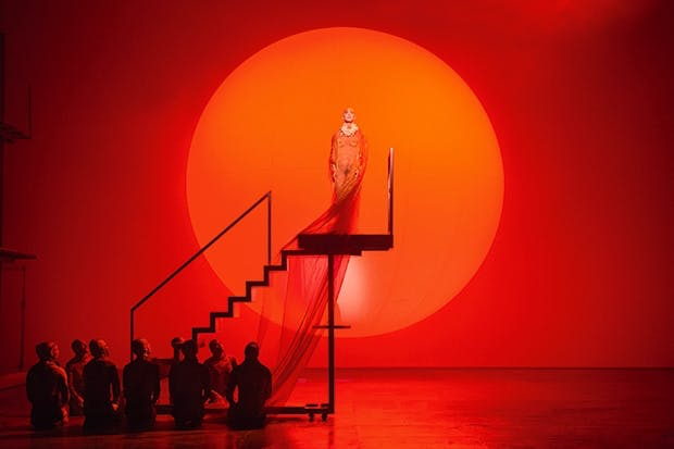 Naked ambition: Anthony Roth Costanzo in Philip Glass's 'Akhnaten'