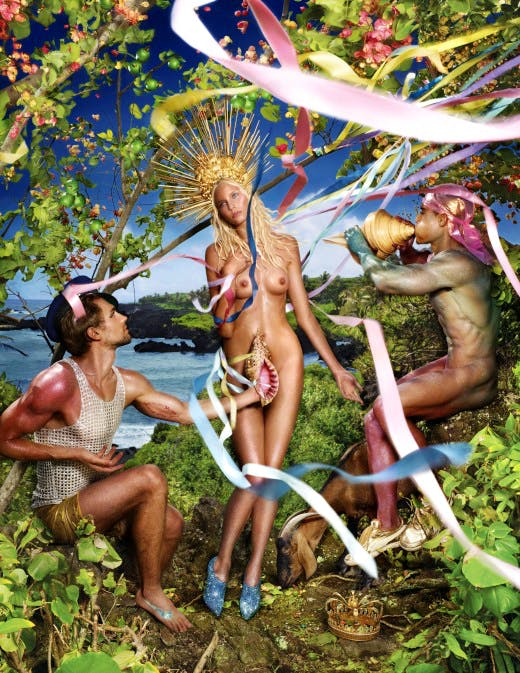 Rebirth of Venus (2009) by David LaChapelle