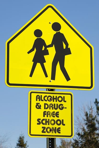 Today's pupils rebel less: numbers of young teetotallers are up