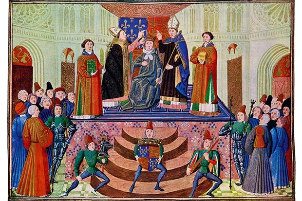The coronation of Henry IV by the Master of the Harley Froissart