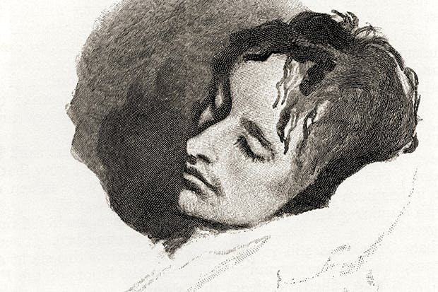 Did criticism kill John Keats? Sketch by Joseph Severn of the poet in his last illness