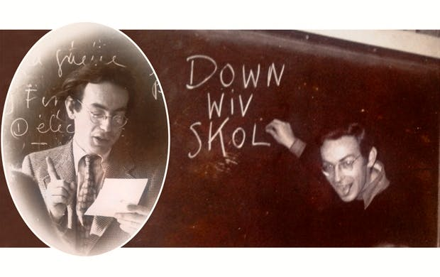 At the chalkface: two faces of Michael Schützer-Weissmann, who taught English at Sherborne and Shrewsbury