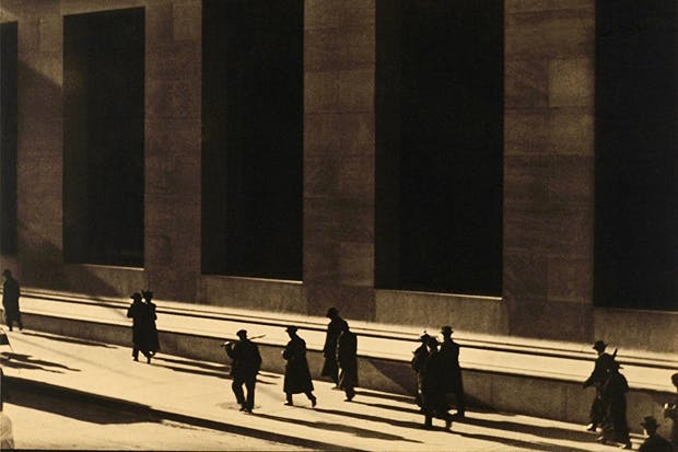 'Wall Street, New York', 1915, by Paul Strand