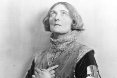 Act of faith: Sybil Thorndike as Saint Joan, c.1924, in George Bernard Shaw's 'Saint Joan'