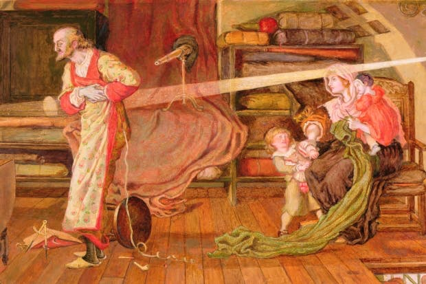 Ford Madox Brown celebrates 17th-century advances in science in his painting 'William Crabtree watches the Transit of Venus in 1639'