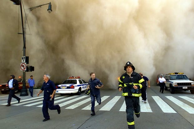 Devastation after the collapse of the Twin Towers (Photo: Getty)
